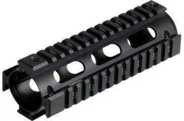 Leapers UTG PRO Made in USA Model 4 Carbine Length Tactical Quad Rails MTU001
