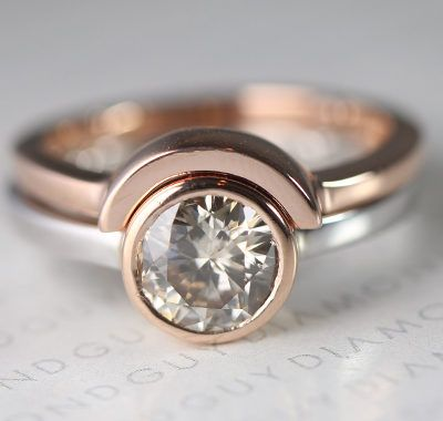 our selection of non traditional rings will capture your rare gem explore our favorite non traditional wedding and engagement ring designs - Wedding Rings Pinterest