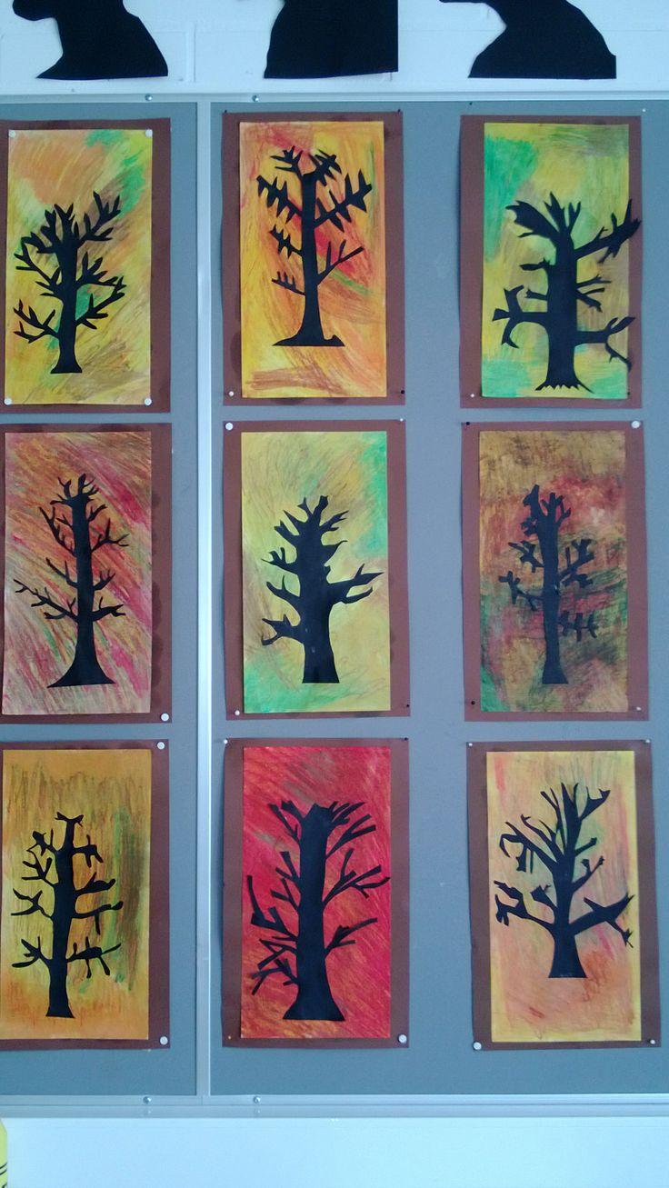syksyn puut