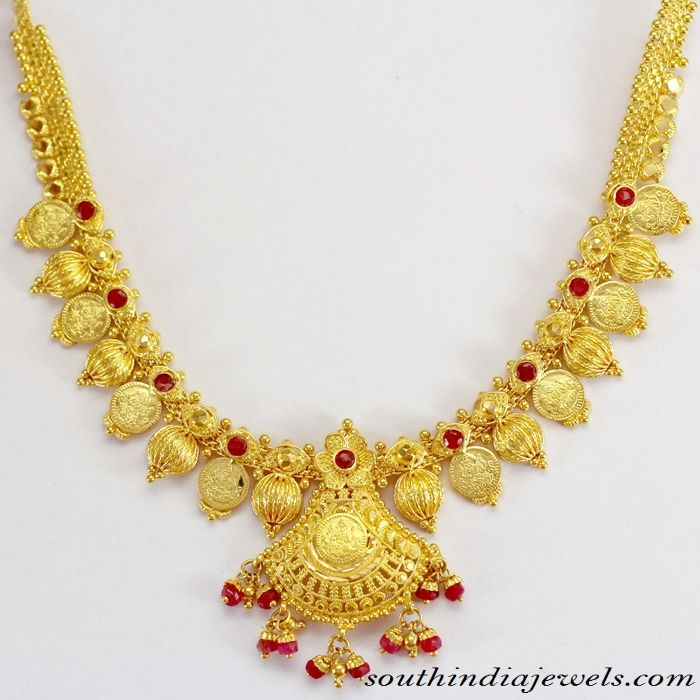 Indian Bridal Jewelry necklace with price - South India Jewels
