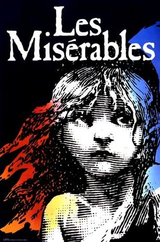 Large Original Broadway Musical Poster Les Miserables Mint | eBay