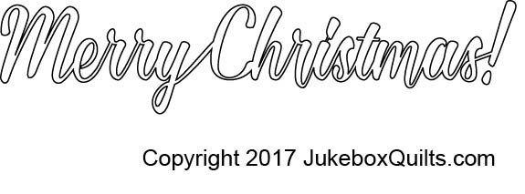 JBKGA Merry Christmas Text