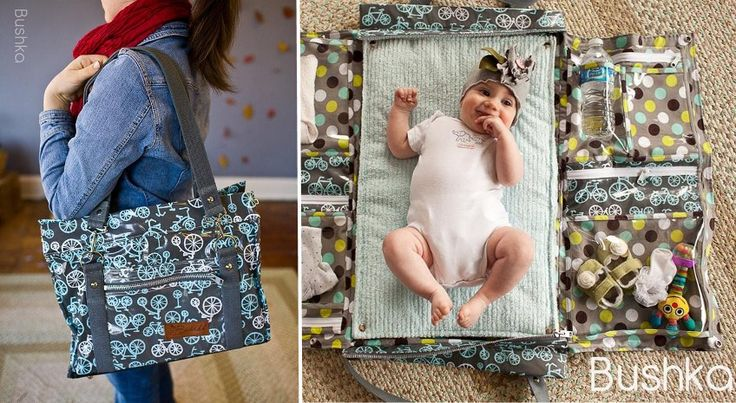 What a great diaper bag... would've gotten this one if they were around. Bushka.com Bushka Diaper Bag | Convertible Diaper Bag and Changing Sation | Designer Diaper Bags | Quilted Diaper Bag | Laminate Waterproof Diaper Bag | Clutches and Wristlets | Tote Bags | Minky Cuddle Blankets