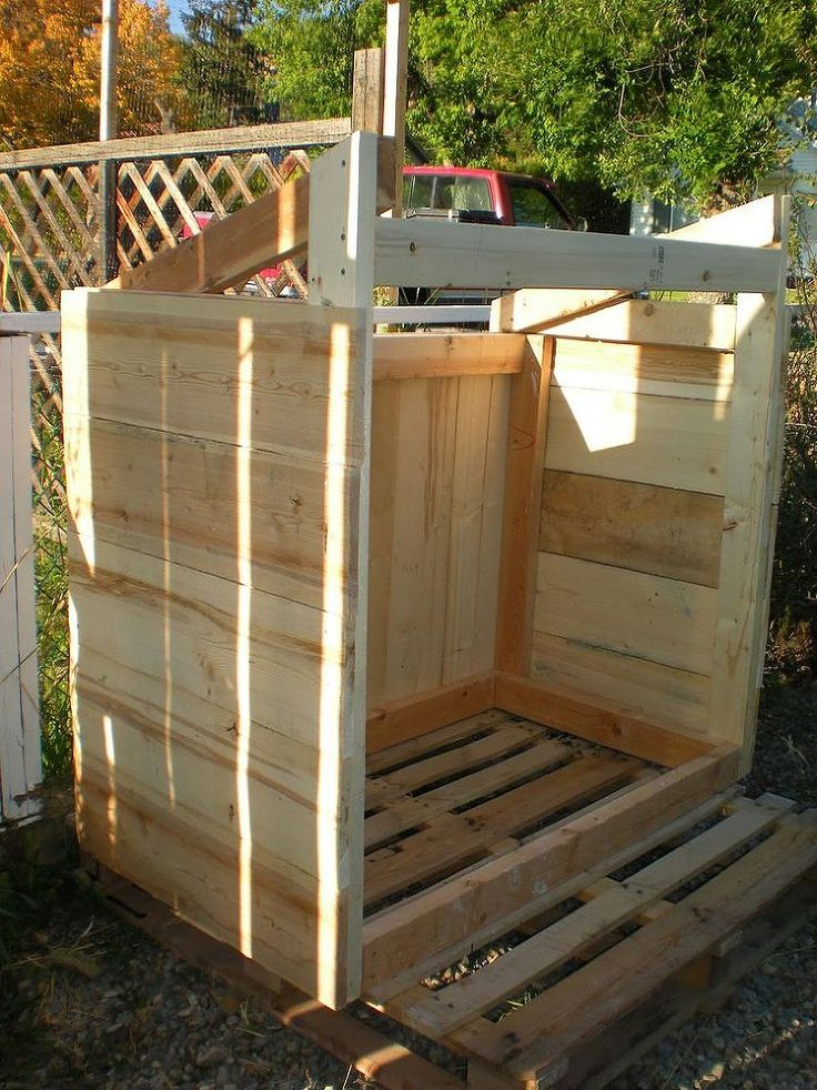 Building A Garbage Can Enclosure From Scrap Lumber Total