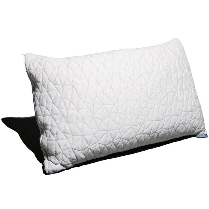 Hypoallergenic Memory Foam Pillow With Washable Removable Cover Bedding Pillows  #CoopHomeGoods