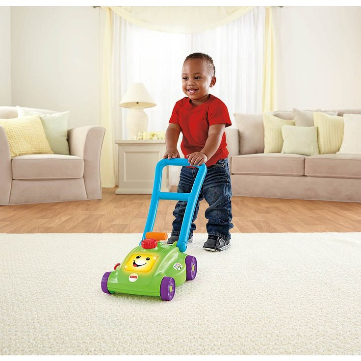 "Fisher-Price Laugh & Learn Smart Stages Mower- English Edition - Mattel - Toys""R""Us"