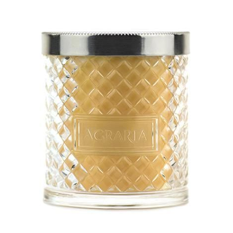 Agraria Golden Cassis Scented Crystal Candle