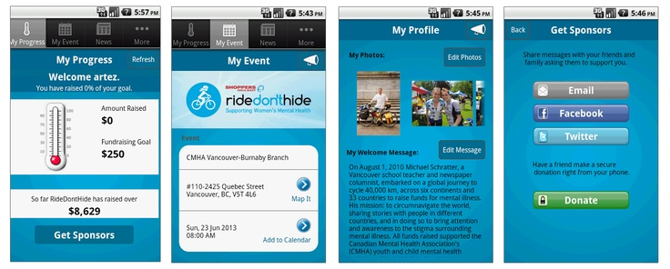 The Ride Don't Hide Mobile App is here!