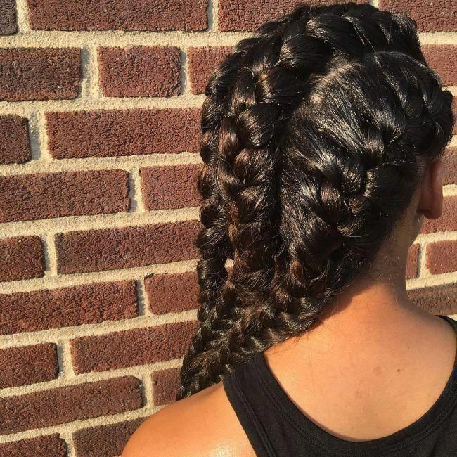 20 Splendid Goddess Braids Hairstyles With Images & Tutorials #goddessbraids #go…,  #boxbra…   – Box Braids Hairstyles