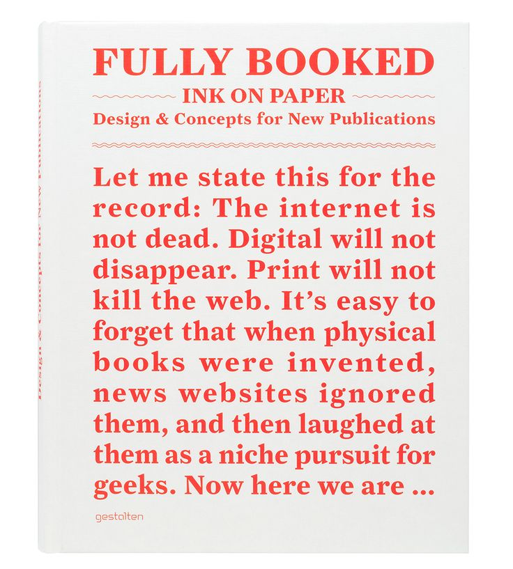 Fully Booked: Ink on Paper book