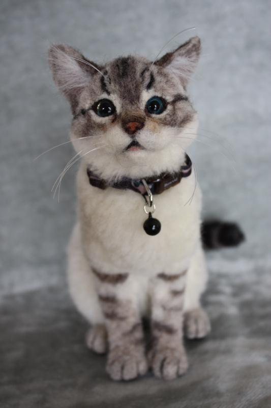 MIX猫 シャム系 - ***yayaya*** 羊毛フェルトのおチビちゃん - Yahoo!ブログ