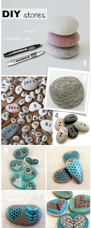 diy decor | diy decorating stones