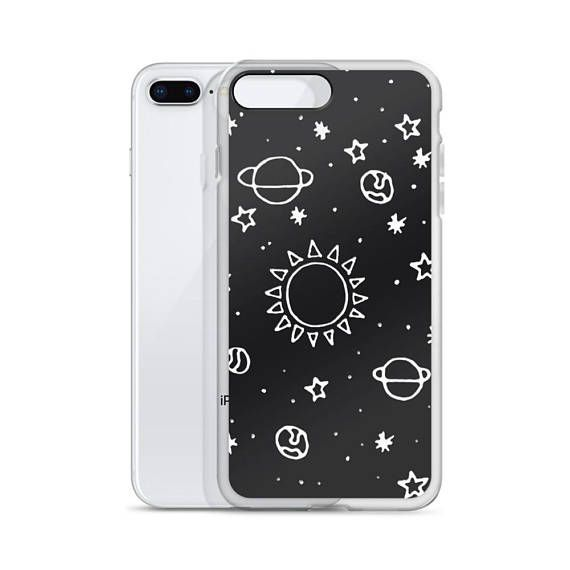 5a913a266a Planets Hand Drawn iPhone Cases Tumblr Hipster Grunge Aesthetic Indie  Universe Stars Galaxy Moon Sun in 2019 | Products | Iphone cases, Hipster  grunge, ...