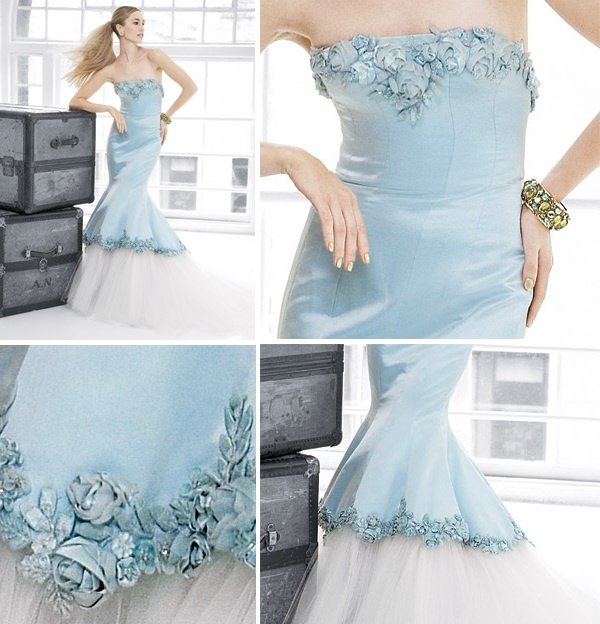 The 46 best With Colors on Wedding Dress images on Pinterest | Short ...