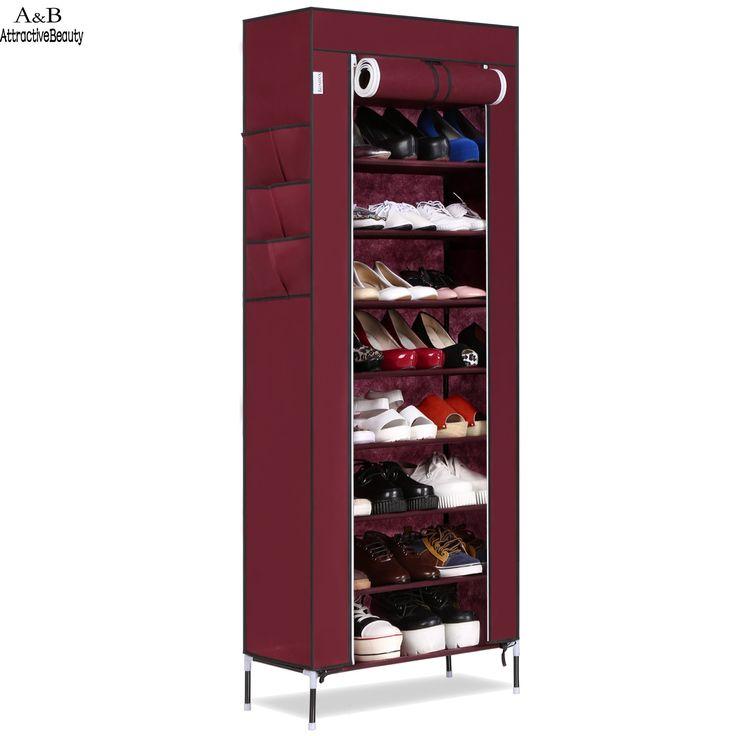 Homdox Lemari Sepatu Sepatu Rak Rak Sepatu Penyimpanan Kapasitas Besar Rumah Furniture Diy Sederhana Portabel Organizer