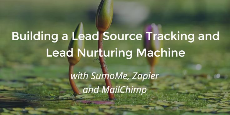 Building a Lead Source Tracking and Lead Nurturing Machine — Marketing and Growth Hacking