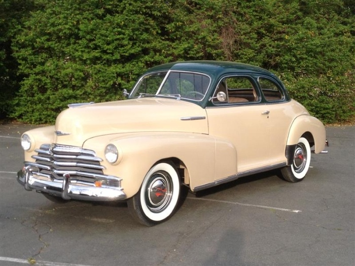 1947 Chevrolet Fleetmaster Coupe - (Chevrolet Motor Co. Detroit, Michigan  1911-present)