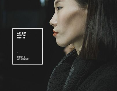 "다음 @Behance 프로젝트 확인: ""Activation Group Website V1.0""…"