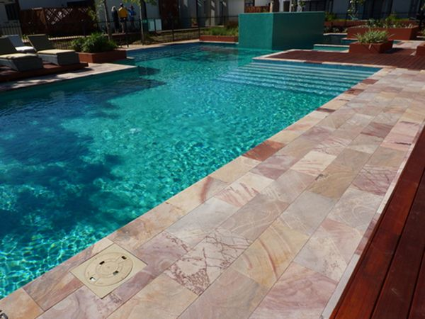 Pool Wall Cladding : Best images about pool on pinterest sandstone