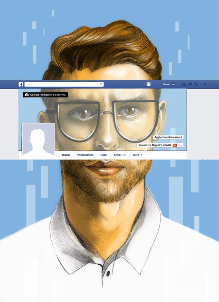 L'identità personale sui social network #unonessunocentomila by Aurora Stano
