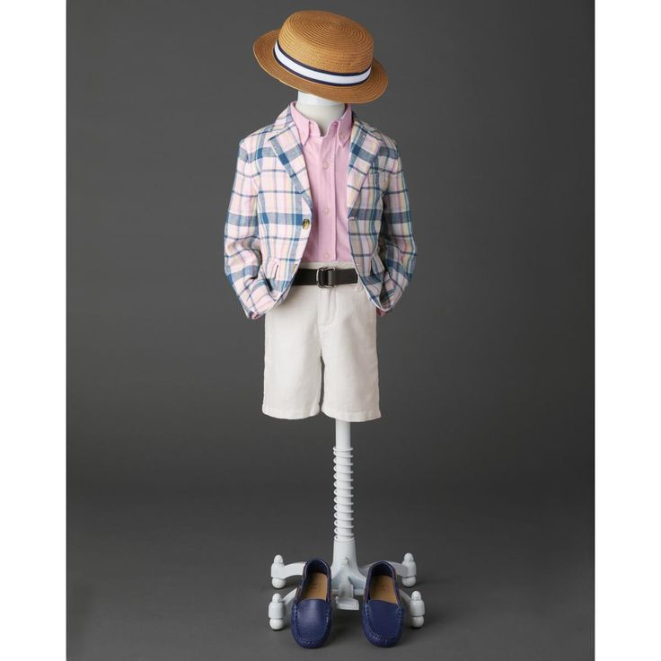 Boy Dashing Picnic Outfit by Janie and Jack
