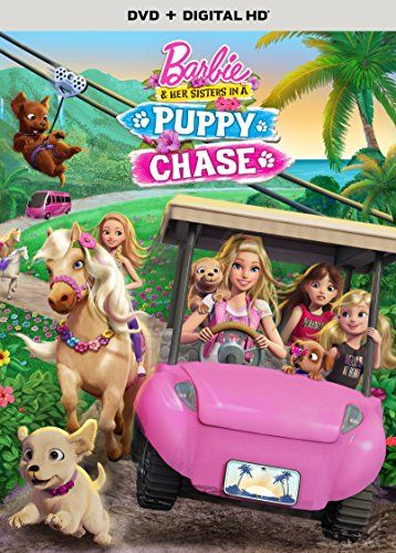 Barbie & Her Sisters in A Puppy Chase (DVD + Digital HD) ...