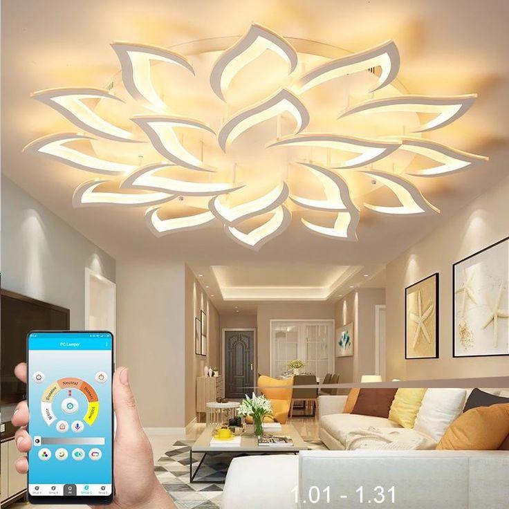 LED Chandelier Living Room Bedroom Home Chandelier Modern Led Ceiling Chandelier Lamp Lighting Chandelier