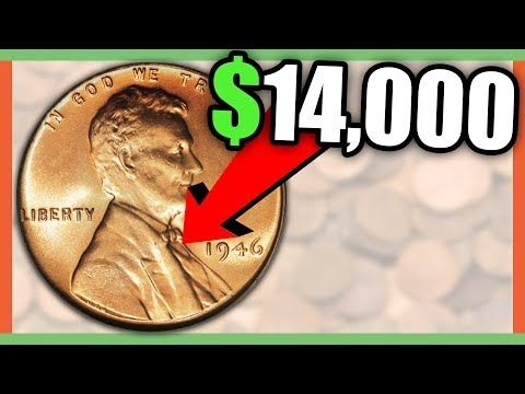 HOW MUCH IS A 1946 PENNY WORTH - RARE PENNIES WORTH MONEY