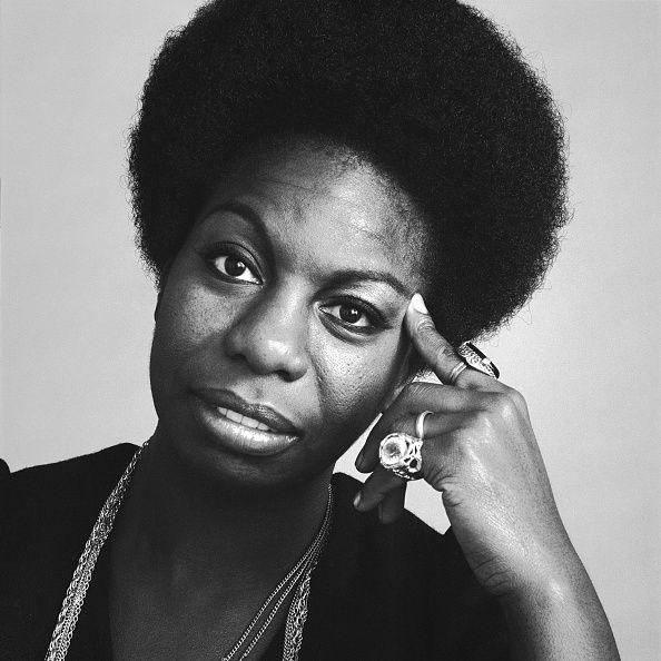 Portrait of the singer Nina Simone October 1969