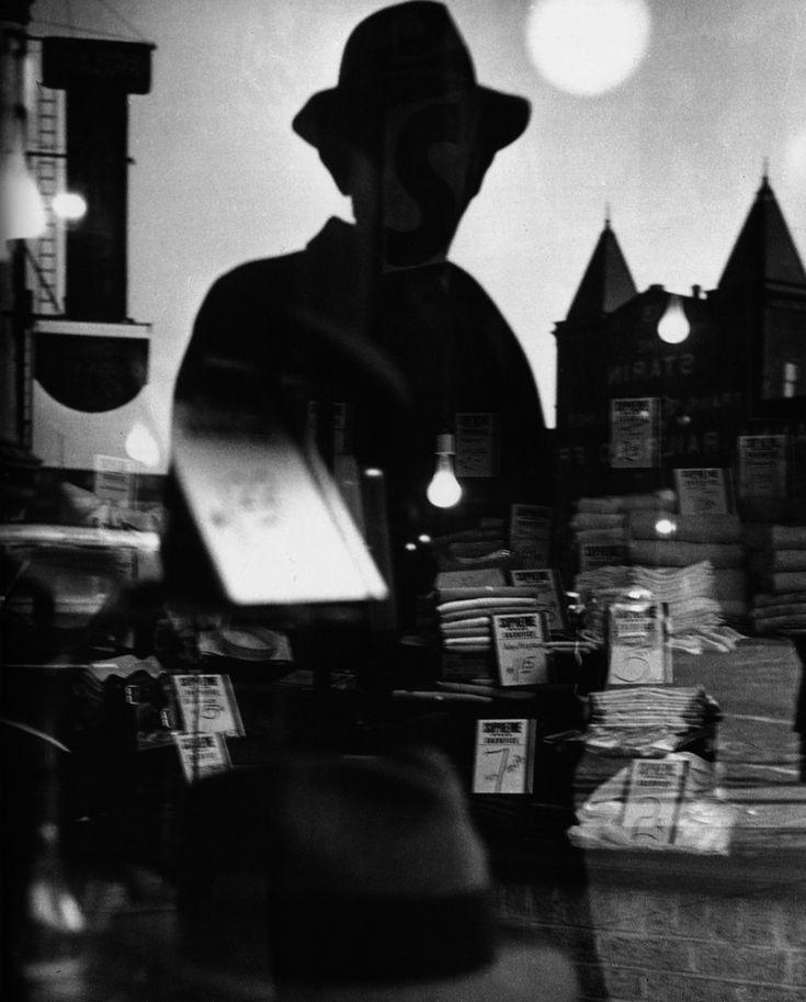 First Reflection, Lisette Model, 1939  @metropolitan museum of art
