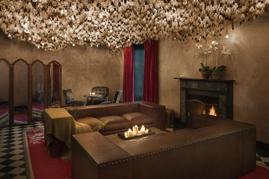 Annika Newell-GRAMERCY PARK HOTEL Light Bulb Ceiling