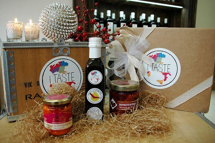 Di che #gusto sei?  Il #MadeinItaly da #iTaste è #piccante! Box di #Natale Peperino! #itasteitaly #Italianfood #food