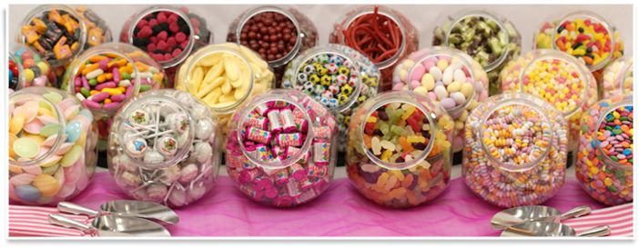 Wedding Pick and Mix Candy Buffet, Rebecca Mays Fudge, sweets and chocolate.