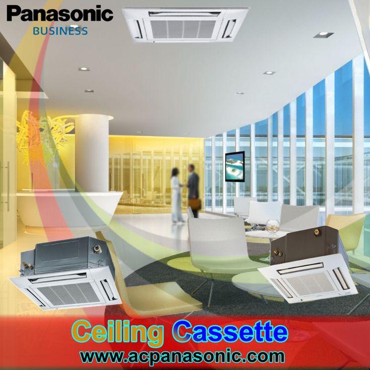 Panasonic » Cassette » AC Ceiling Cassette Panasonic • DEALER RESMI AC DAIKIN, MITSUBISHI, PANASONIC, HAIER, AKARI, TCL JAKARTA - PT.TEHNIK PENDINGIN INDONEISA