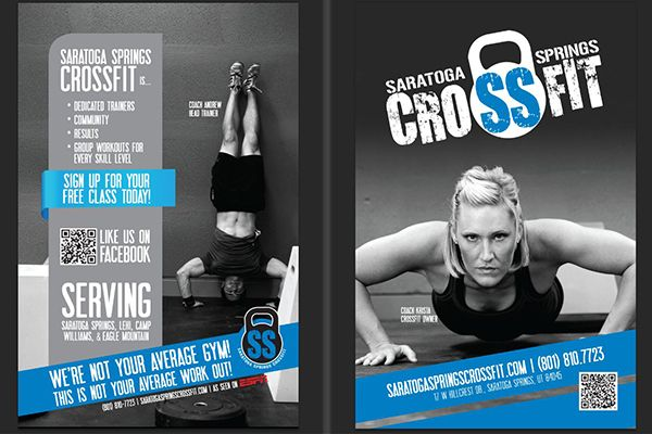 crossfit flyer | Graphic Design | Pinterest