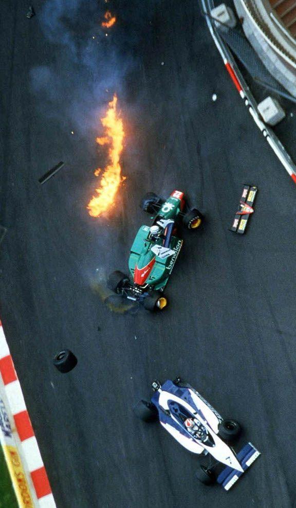 F1 benetton. 1985 Monaco Grand Prix