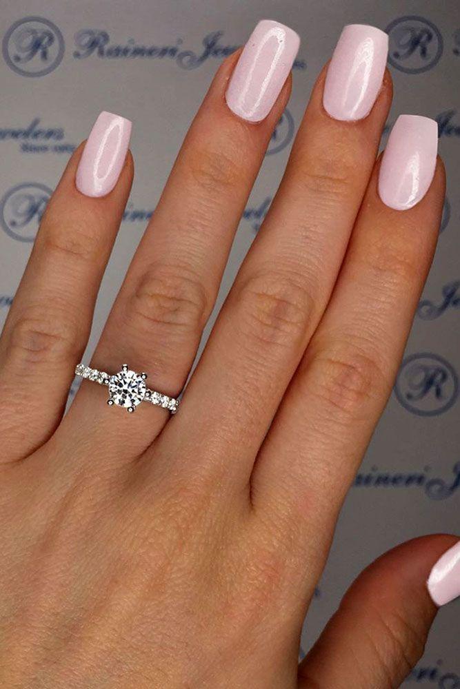 30 Utterly Gorgeous Engagement Ring Ideas ❤️ See more: http://www.weddingforward.com/engagement-ring-inspiration/ #wedding