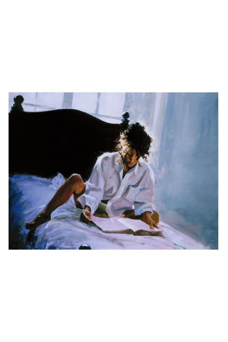 Aldo Luongo - Backlight To A Good Book Original Acrylic on ...