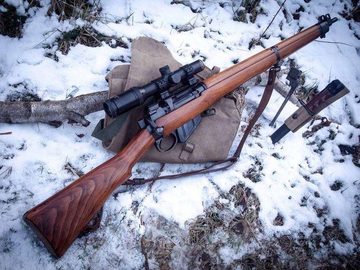 Armas Lee Enfield Rifle  Papel de Parede