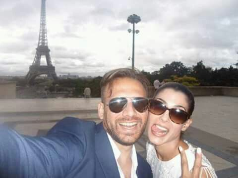 #Honeymoon #paris #toureiffel #selfie 2015
