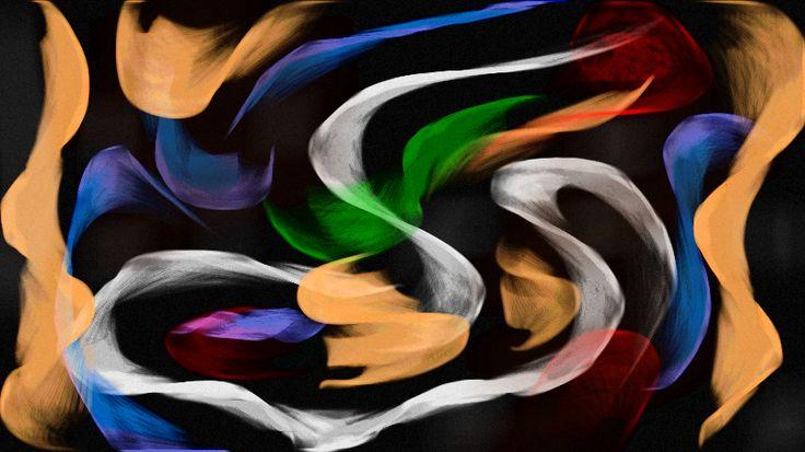 Dancers in the Dark Allan Lucena #Arte #Digital