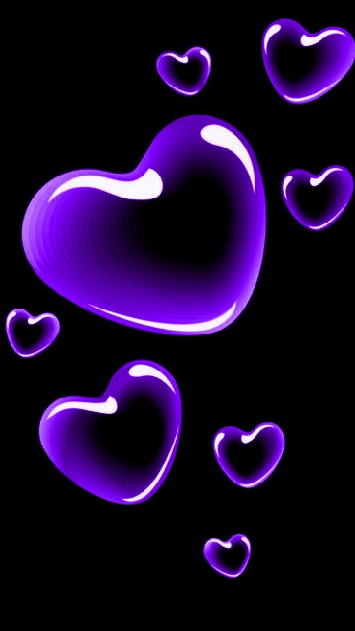 Pin By Teresa Hughes On Hearts Heart Wallpaper Heart Iphone Wallpaper Purple Wallpaper