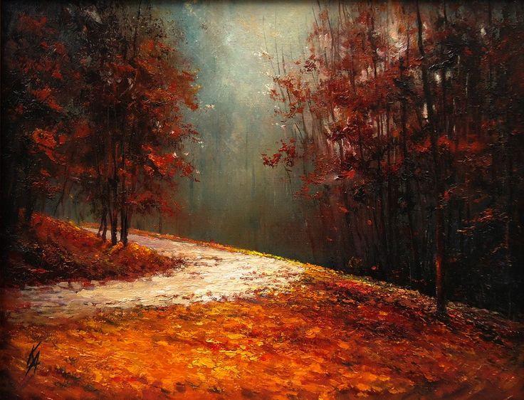 живопись - пейзаж, купить картину к тайне