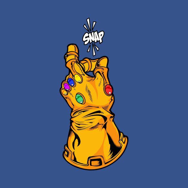Check Out This Awesome Infinity Gauntlet Snap Design On Teepublic Dibujos Marvel Personajes De Marvel Arte De Marvel