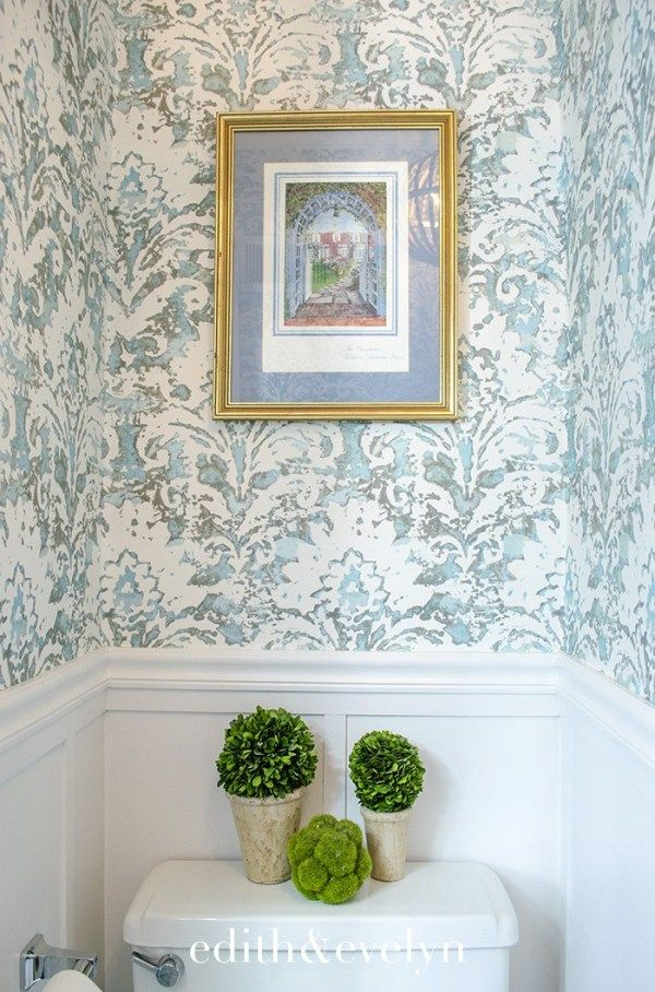 Petite Powder Room Transformation