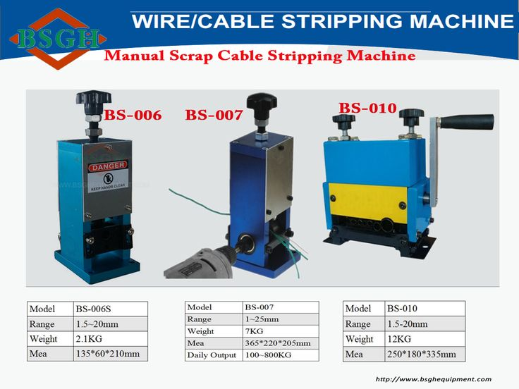 The 11 best cable wire recycling machine images on Pinterest   Cable ...