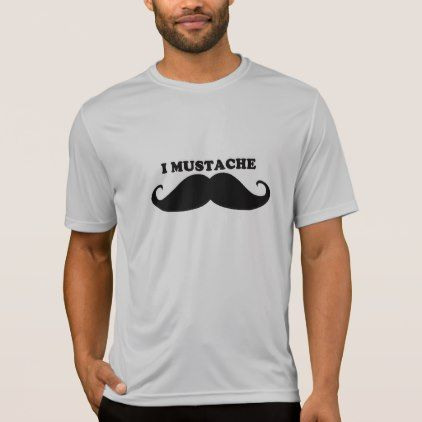 Cool Mustache Design T-Shirt - diy cyo customize personalize design