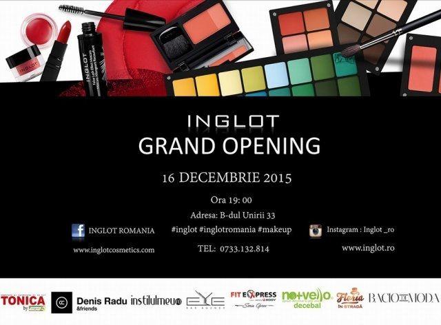 Inglot Romania-Grand Opening ~ Beauty and Fashion by Sunshine