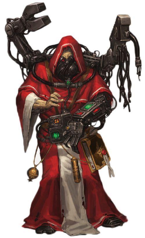 A Techsorcist Adeptus Mechanicus