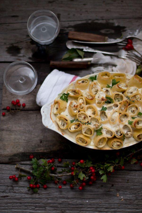 Paccheri al forno con funghi e ricotta per Taste&More n. 17   Smile, Beauty and More